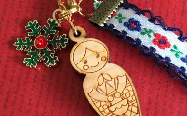 20171117 5 600x371 - クリスマス版マトリョーシカのオリジナルチャームを作ってみた