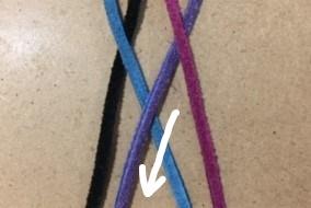4 2 - 四つ編みブレスレットの編み方