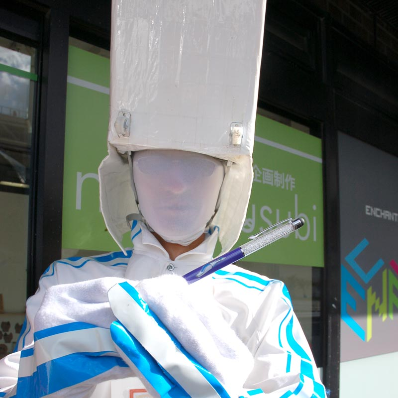 奈良市非公認キャラクター リニー君がアンシャンテに!!