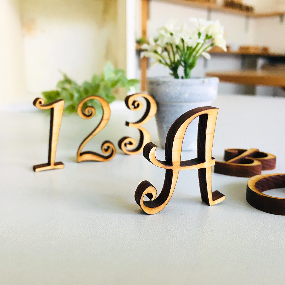 font2 - お好きなフォントで切り文字をお作りします。