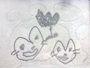 b946e36f4bfb6e02d5a46a9ebfa9aac2 e1526371267769 300x227 - 猫の似顔絵をキーホルダーにするご依頼をいただきました!