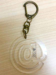 kirimoji02 225x300 - セミオリジナルのキーホルダー製作!!