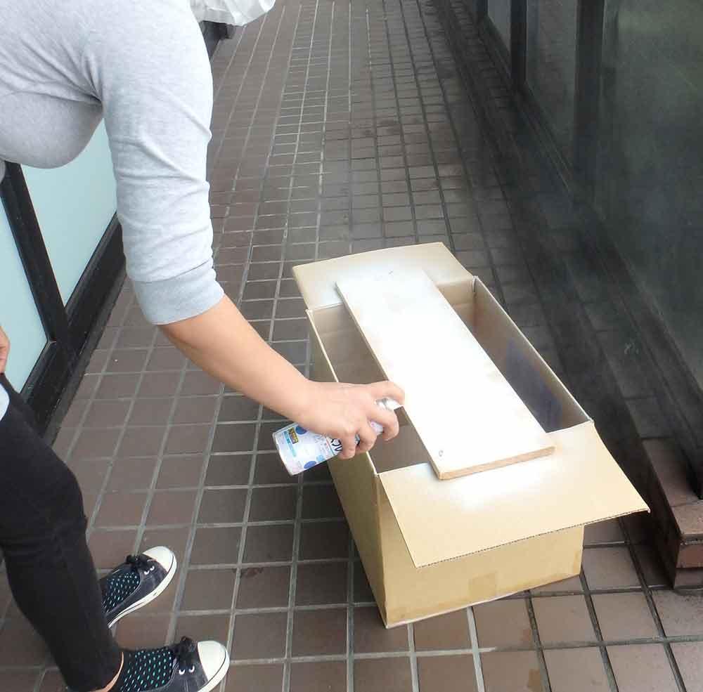 1 - 木のオリジナル看板を手作り!お土産屋さんに設置!