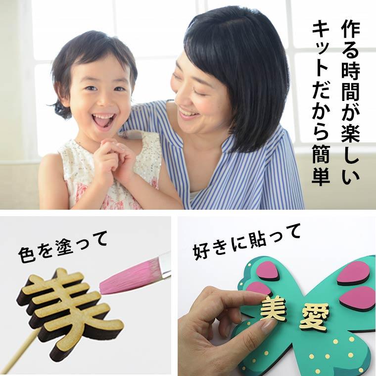 d11b51eb92519ee89911aa17e92ac43e - 【シロクマの出産祝い】手作りギフト。赤ちゃんの名前をインテリアにしちゃおう!木製ドアプレートキットなら簡単。