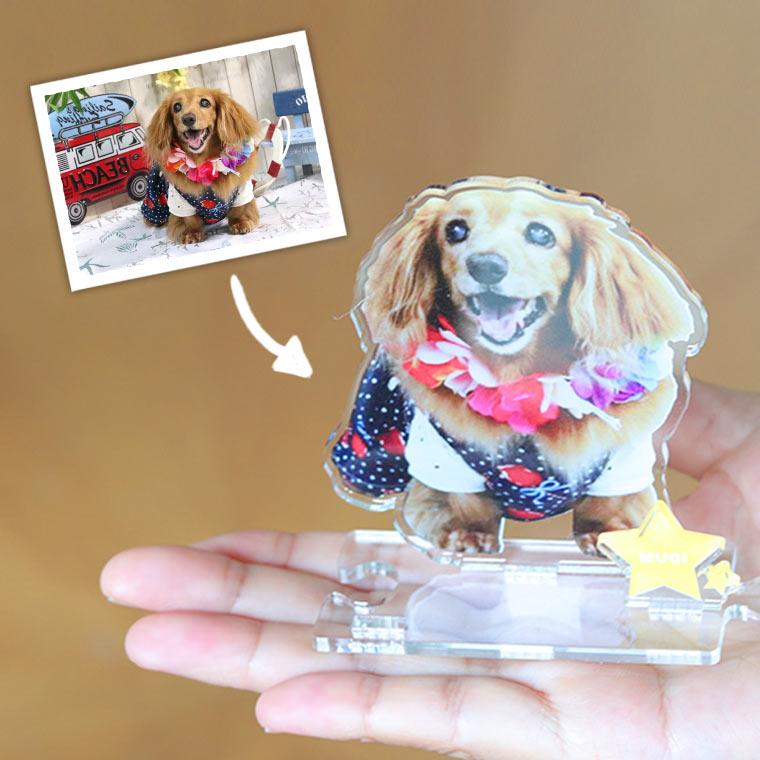 insta1 - 犬猫ちゃんのアクリルスタンド!うちの子の写真を立体インテリアに。ペットメモリアルな贈り物。