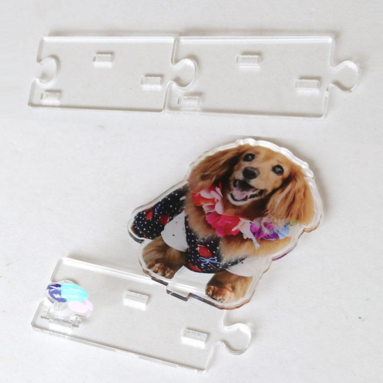 insta4 - 犬猫ちゃんのアクリルスタンド!うちの子の写真を立体インテリアに。ペットメモリアルな贈り物。